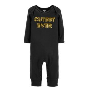 Cutest Ever Black and gold glittery jumpsuit